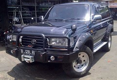 OVER FENDER TOYOTA LANCRUISER 95-98 VX 80 VENDER SAMPING FENDER BAUT L OVER FENDER OFFROAD 4X4