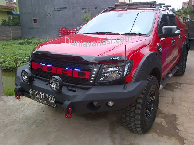 BUMPER ROCKER BAR ALL NEW RANGER
