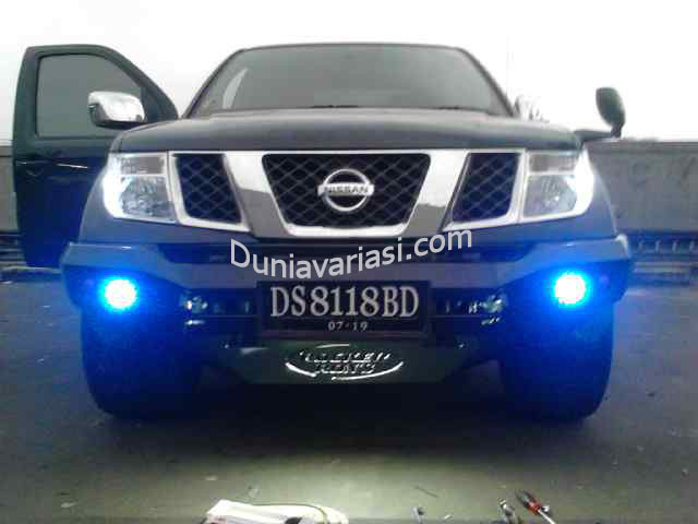 BUMPER ROCKER BAR NAVARA